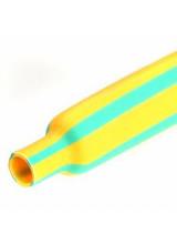 Термоусадка ТТУ 35/17.5 желто-зеленая
