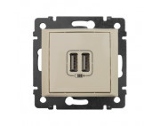 Legrand Valena Розетка USB 2-ая крем 774170