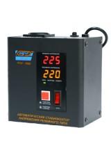 Стабилизатор релейный навесной VOLTRON PCH-1000Вт ( вольтрон ) черный