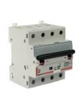 Автоматический выключатель legrand 4 полюса 40 A 4M  тип С   6 кA 407309