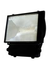 Прожектор металлогалогенный 400W  E40 IP65 асимметричный с пускателем, черный, 415*150*483мм