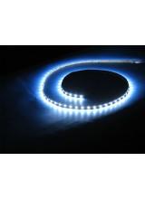 светодиодная лента влагозащищенная в силиконе 3528 IP 65 холодный белый 4,8 вт 60 диодов на метр 210lm