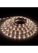 светодиодная лента влагозащищенная в силиконе 5050 IP 65 теплый белый 7,2 вт 30 диодов на метр 360lm