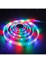 светодиодная лента влагозащищенная в силиконе 5050 IP 65 RGB 14,4 вт 60 диодов на метр 720lm