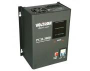 Стабилизатор релейный навесной VOLTRON PCH-2000Вт ( вольтрон )  черный