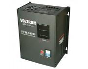 Стабилизатор релейный навесной VOLTRON PCH-5000Вт ( вольтрон )  черный