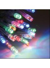Гирлянда нить 2*3 м ,20 нитей по 3 метра ,прозрачный провод,мульти