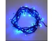 Гирлянда нить,100 диодов,длина 10м,мерцает,синий