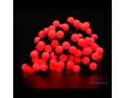 Гирлянда с большими шариками(2,3см)100диодов/10м,красный