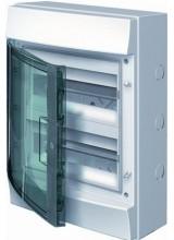 Влагозащищенный настенный бокс ABB Mistral65 24М прозрачная дверь