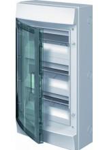 Влагозащищенный настенный бокс ABB Mistral65 36М (3х12) прозрачная дверь