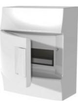 Влагозащищенный настенный бокс ABB Mistral65 8М непрозрачная дверь