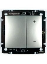 Legrand Valena алюминий светорегулятор 600вт 770274