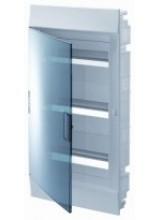 электрический щит ABB Mistral41 в нишу 36М прозрачная дверь с шиной