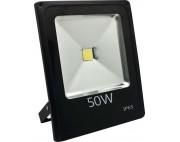 светодиодный прожектор 50вт 1LED 50W  серый (IP65) 285*235*180мм